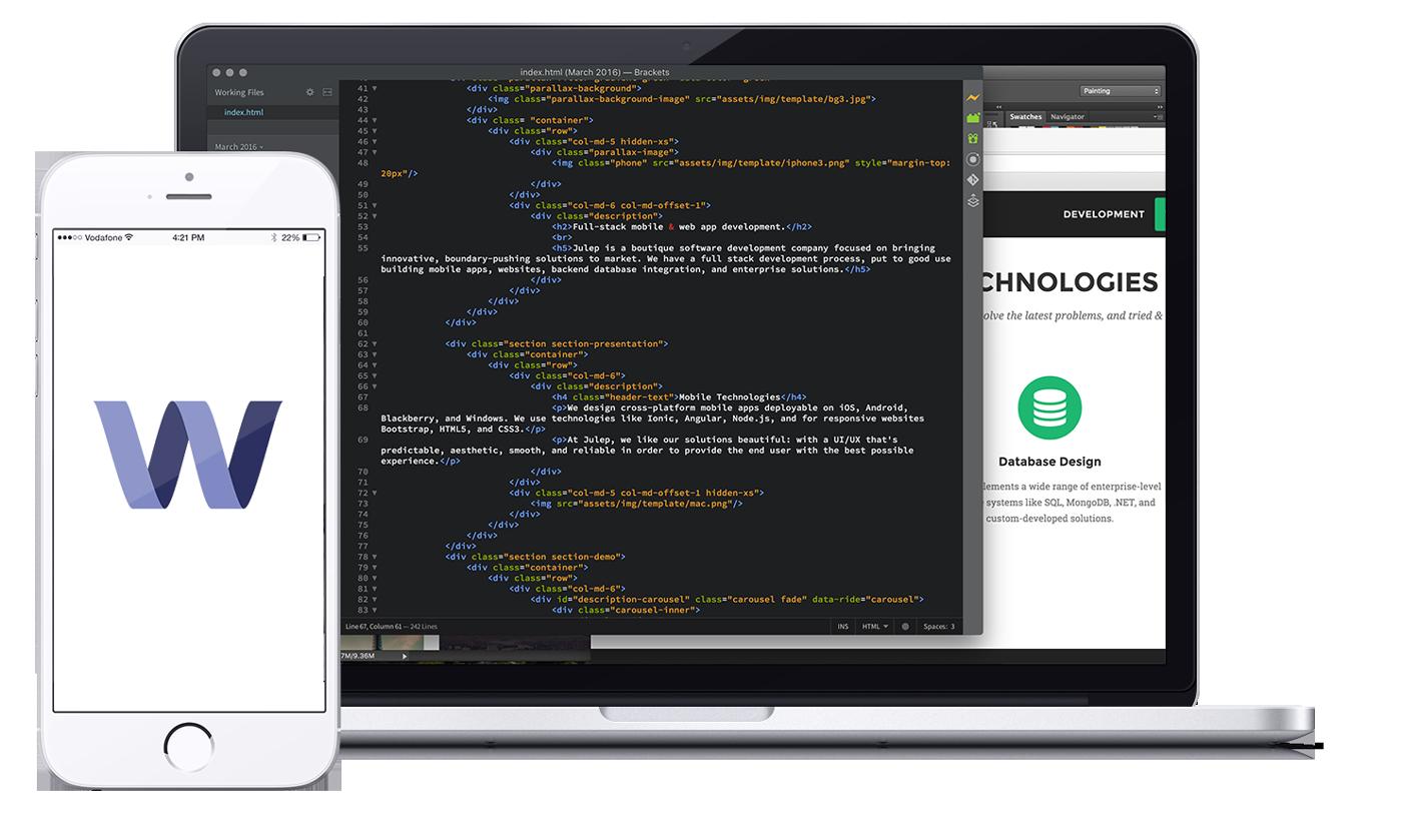 Julep - mobile & web app design + development